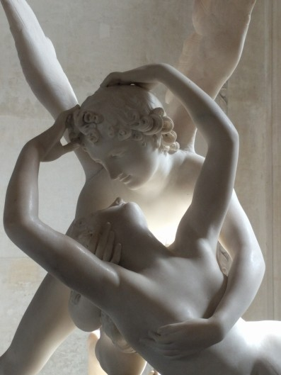 """Psyche Revived by Cupid's Kiss"" by Antonio Canova (1793, Louvre)"