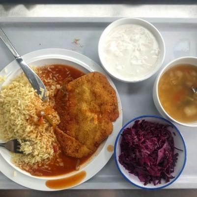 Cafeteria at Uni Saarland
