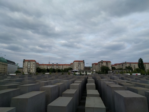 Holocaust Memorial from above