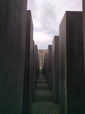 Holocaust Memorial from inside