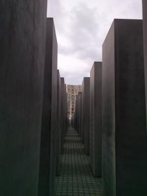 Holocaust Memorial from inside