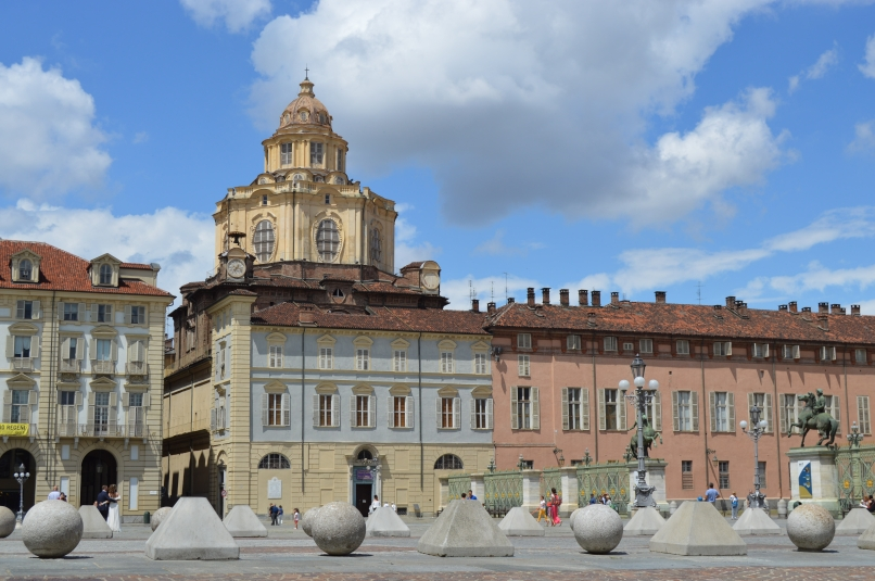 The center of Torino.