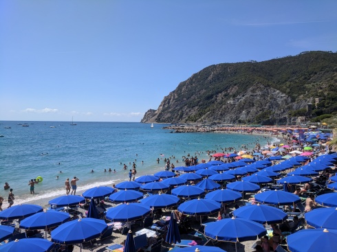 Monterosso vacation factory.