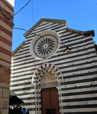 Church in Monterosso.